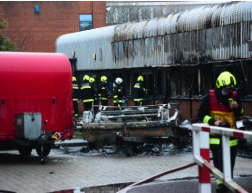 Bridgwater college campus workshops 'completely destroyed' by fire