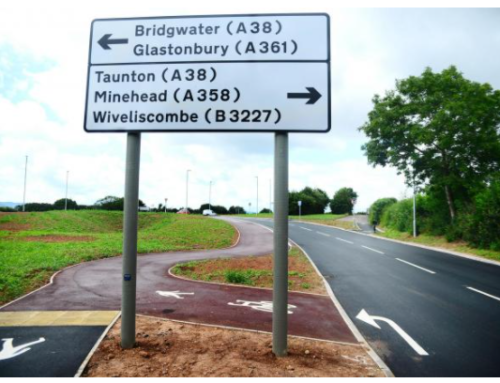 Western Relief Road will provide part of diversion route when A38 Bridgwater Road closes